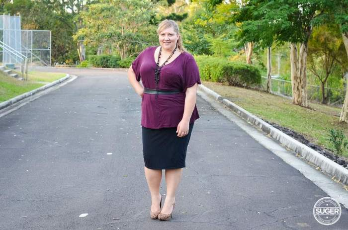 plus size office day to night outfit-2