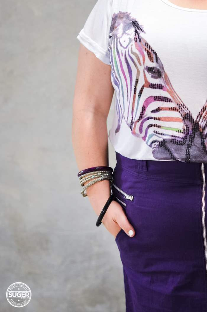 plus size skirt + t-shirt outfit aussie curves-4