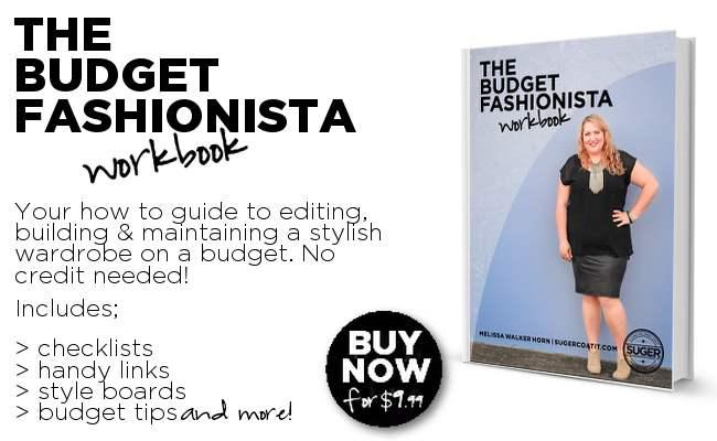 Budget Fashionista Workbook LANDSCAPE