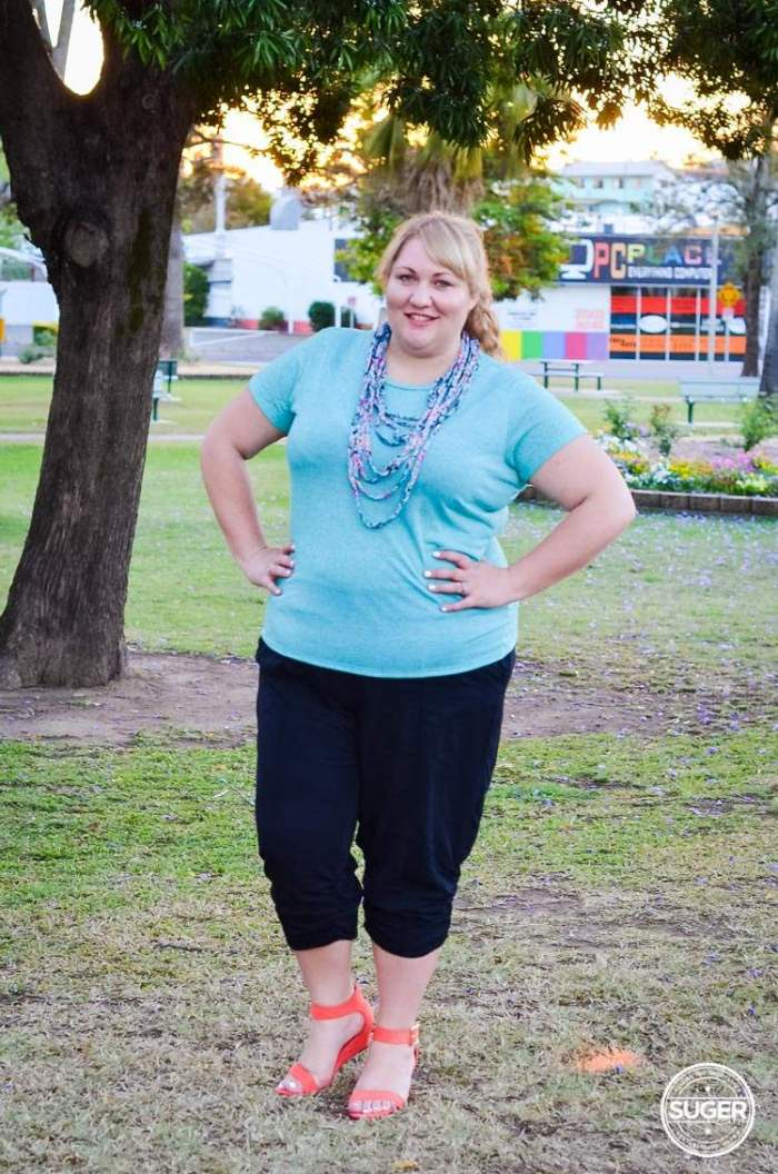 plus size casual outfit for summer-5