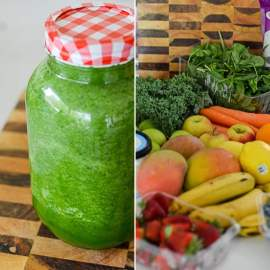 The Juice + Smoothie Rainbow