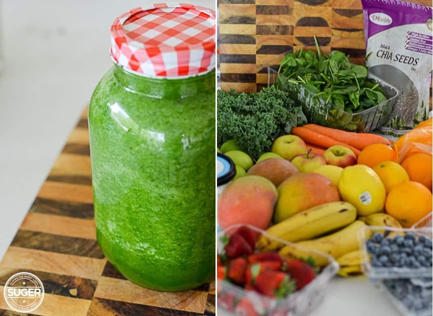 The Juice + Smoothie Rainbow