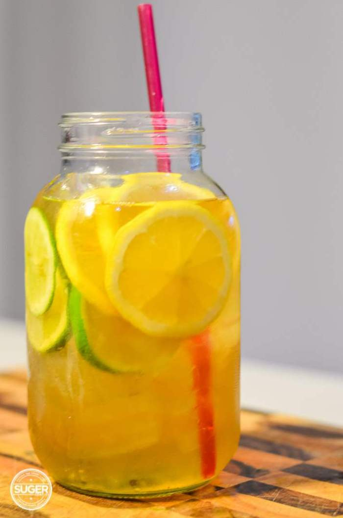 simple summer iced green tea-4