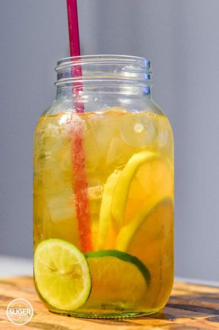 simple summer iced green tea-7