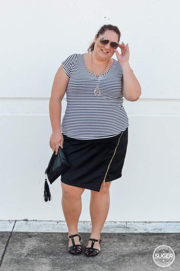 target bellecurve monochrome plus-size-12