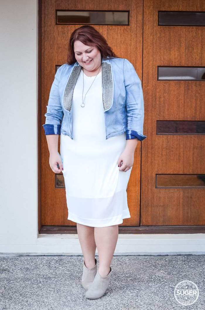 plus size date night outfit boohoo 17 sundays-5