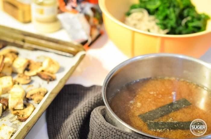 miso soba noodle kale and mushroom soup-10