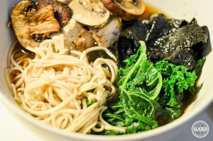 miso soba noodle kale and mushroom soup-19