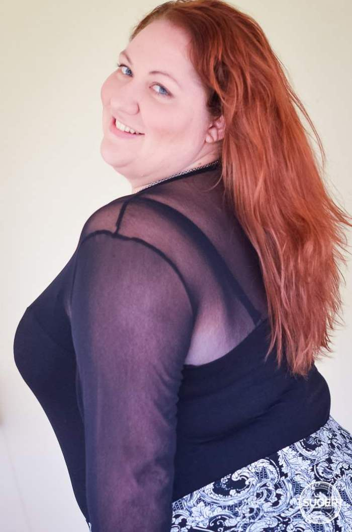 plus size monochrome outfit with bodysuit-2