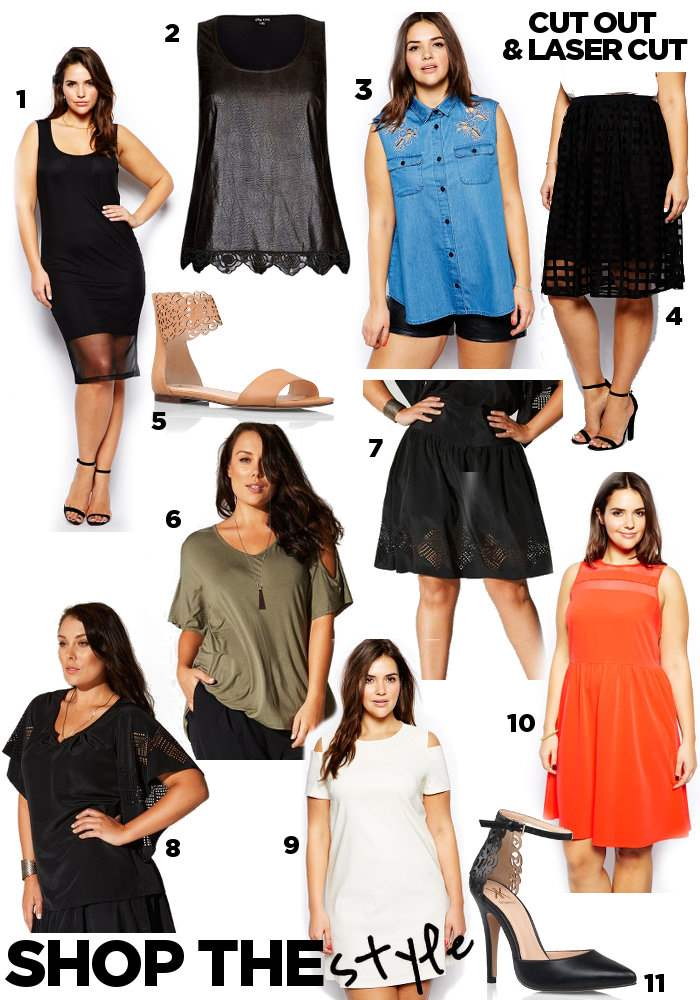 steal her style cut out laser cut outfits shopping guide