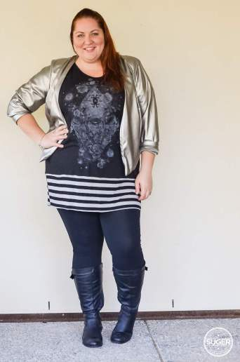 plus size tunic + leggings + boots outfit-2