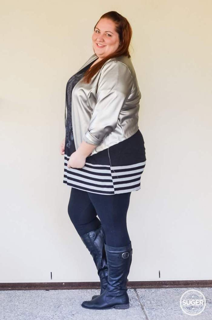 plus size tunic + leggings + boots outfit-5