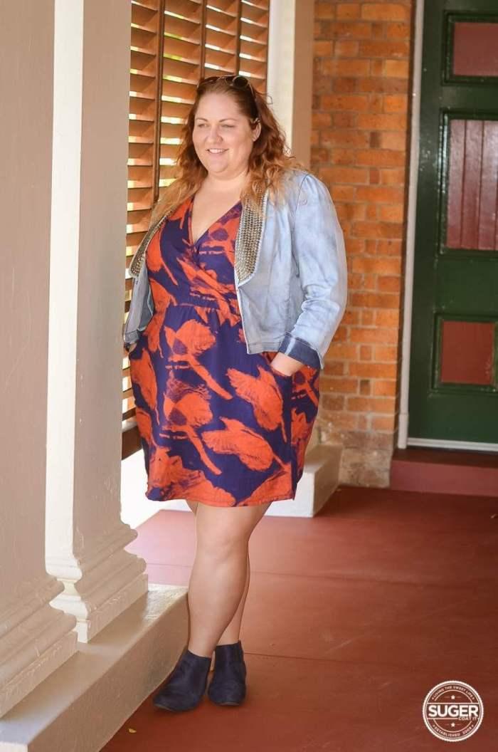 casual sunday outfit 17 sundays print dress-5