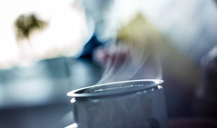 hot tea and a cold morning - image from Unsplash