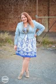 17 sundays jacket casual dress ankle boots plus size-4