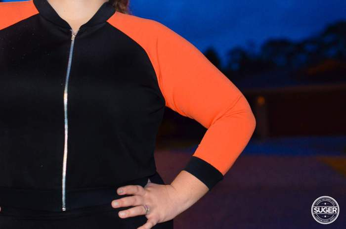 plus size boohoo sports luxe outfit-5
