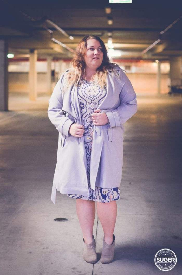 plus size print dress -5