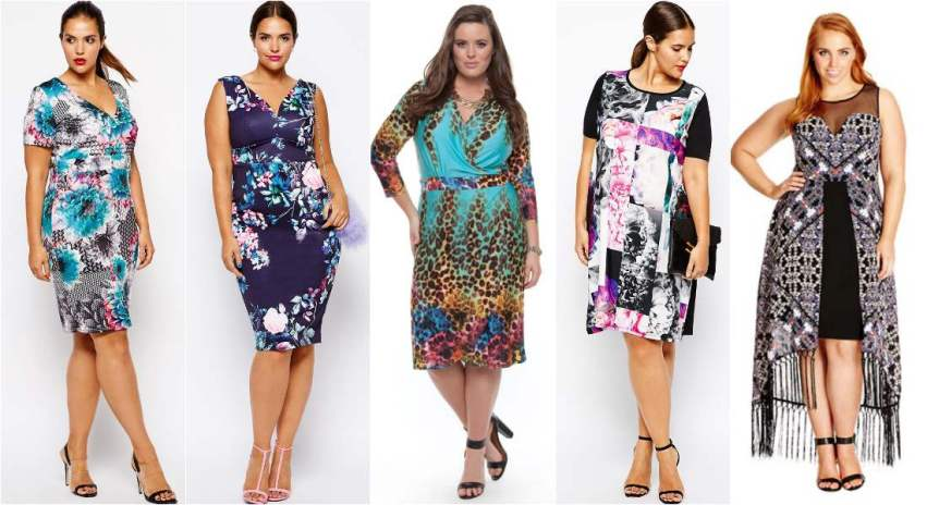 plus size spring racing fashion - prints