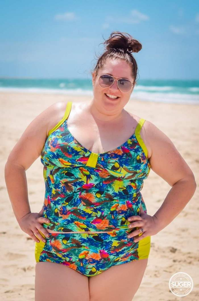 Plus Size Blogger Surania Swimwear Review • Suger Coat It