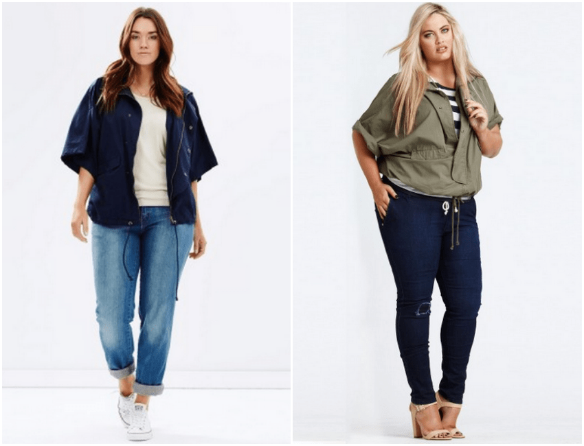 how to wear a plus size cape