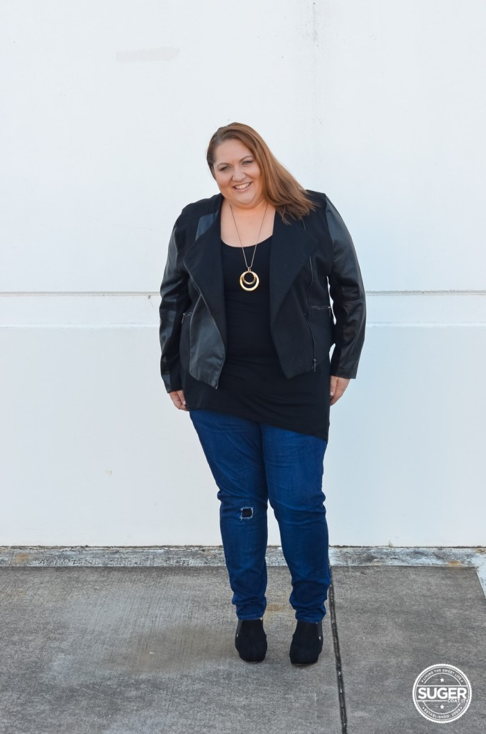 winter plus size outfit 17 sundays denim suger coat it-6