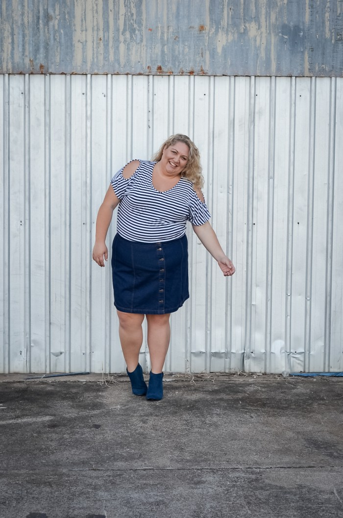how to wear ankle boots with skirts and dresses plus size blogger
