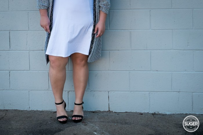 plus size blogger asos curve white dress-1