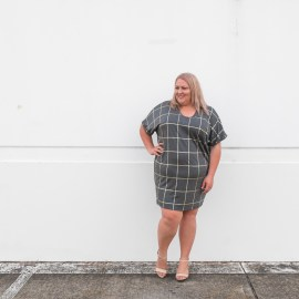 THE Grid Print dress (hello spring!)