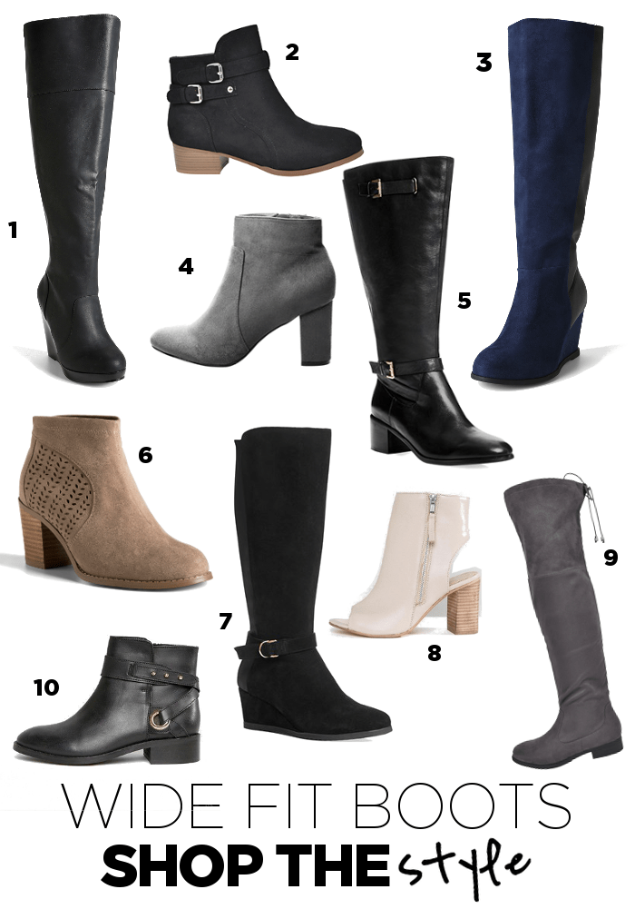 Where to buy wide fit boots - shop the style - Suger Coat It
