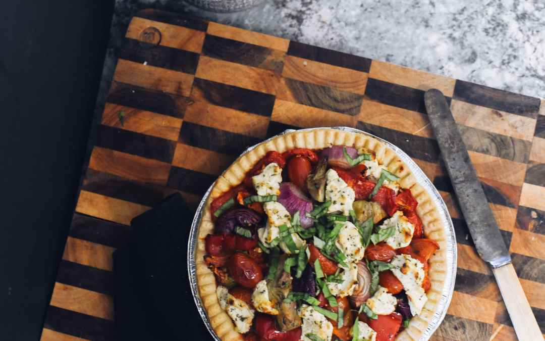 Antipasto Goat's Cheese Tart