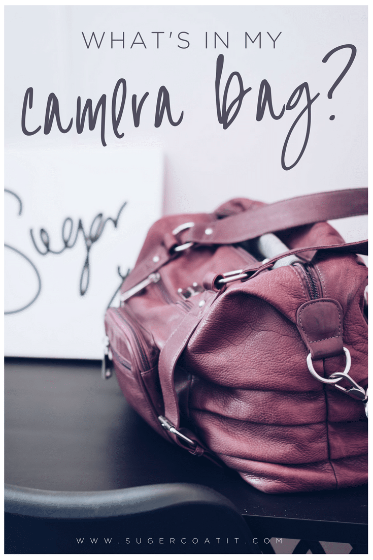 What's in my camera bag? - Suger Coat It