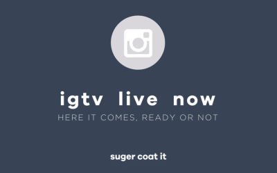 IGTV; so that's a thing