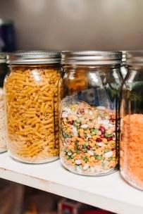 Pantry Storage Ideas using Glass Jars - Suger Coat It