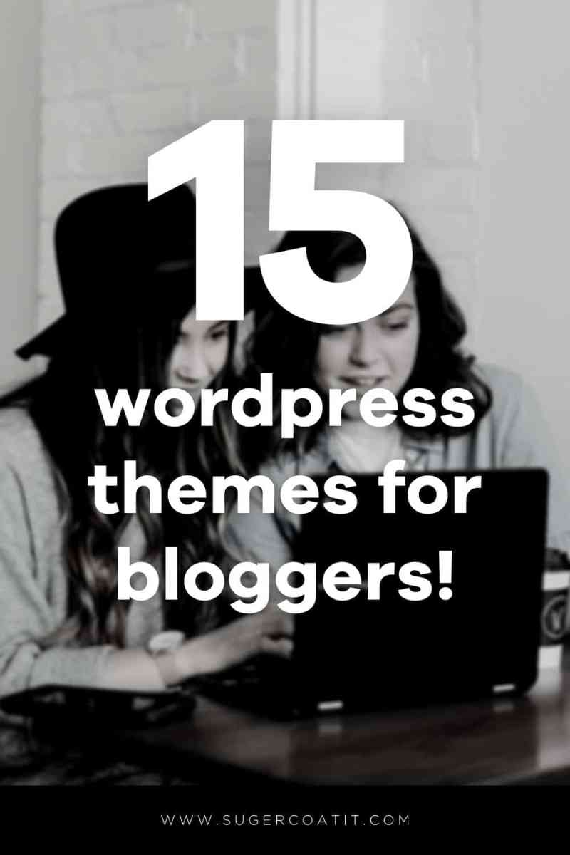 WordPress Themes for Bloggers - Suger Coat It