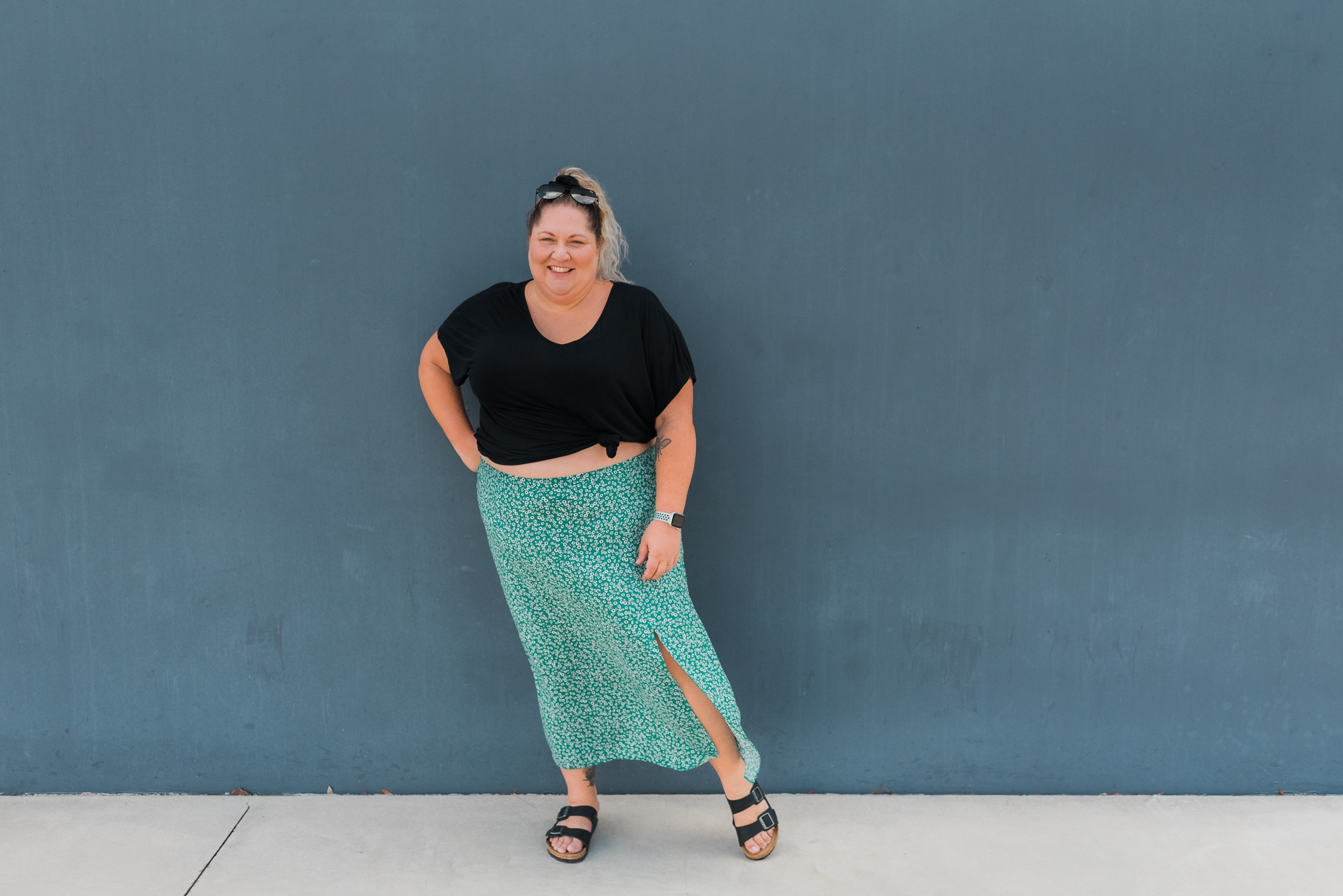 Plus Size Summer Casual Outfit - Suger Coat It