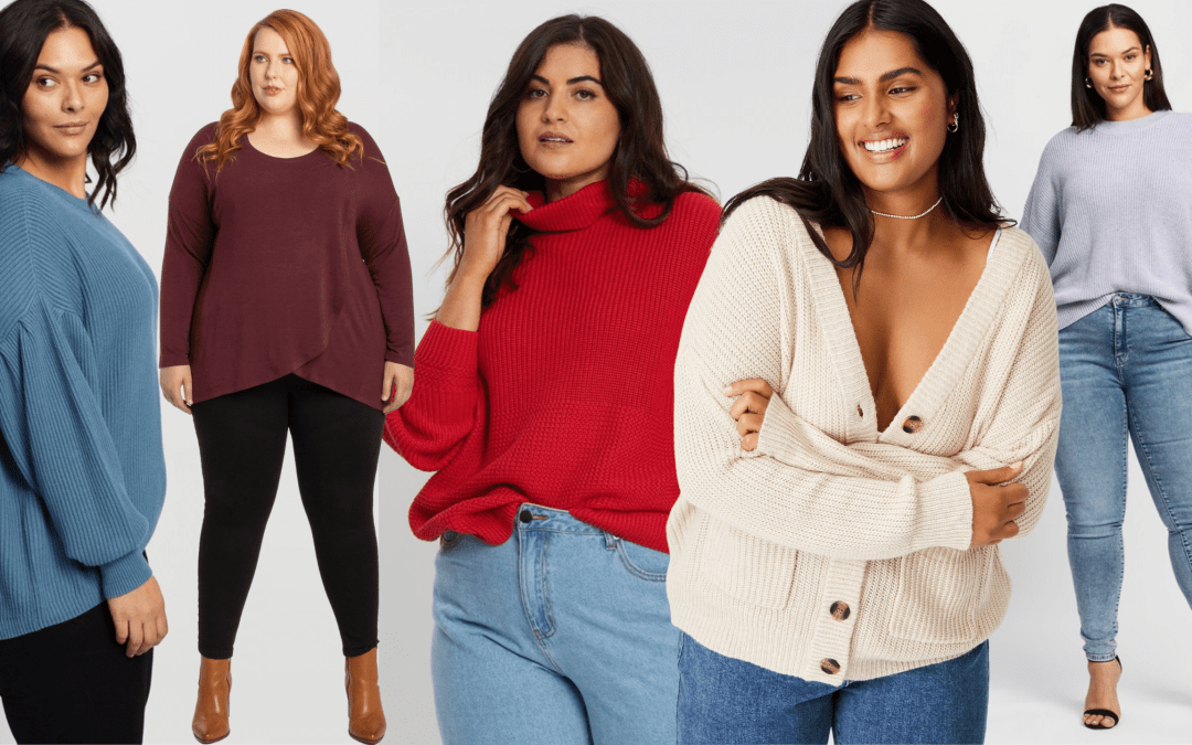 23 Plus-Size Jumpers to Cosy Up in this Winter