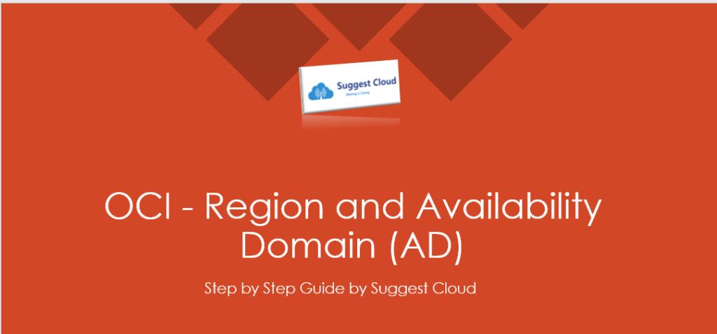Region and Availability Dmain