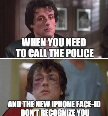 iPhone Face ID Meme Suggestion Buddy