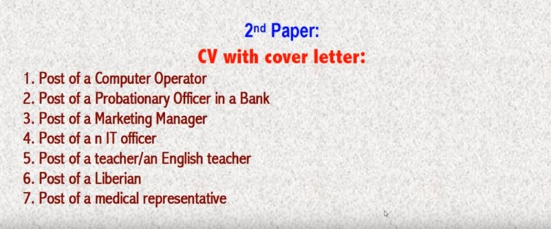 SSC English 2nd Paper Suggestion 2019