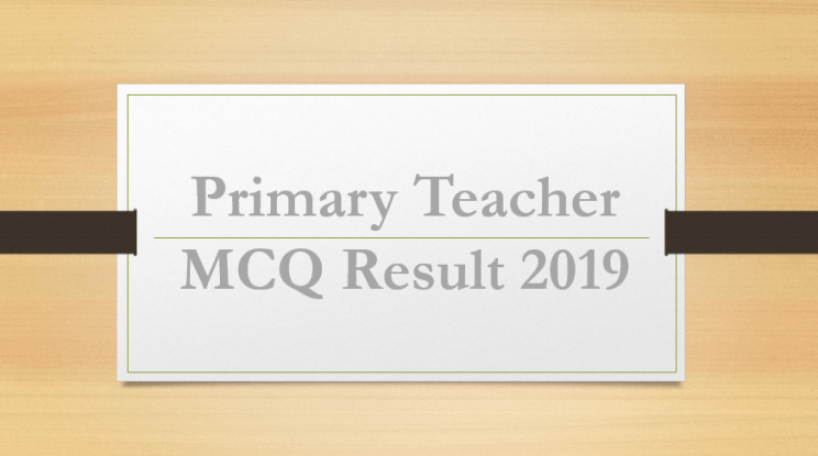 Primary Assistant Teacher Exam Held in 4 Steps