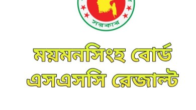SSC Result 2020 Mymensingh Board Marksheet & Number