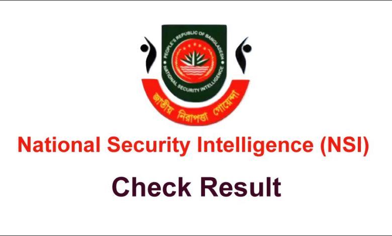 NSI Field Officer Result 2021 PDF NSI FO Exam Result Download Link October 8, 2021