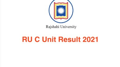 RU C Unit Result 2021 Rajshahi University Admission 2020-21