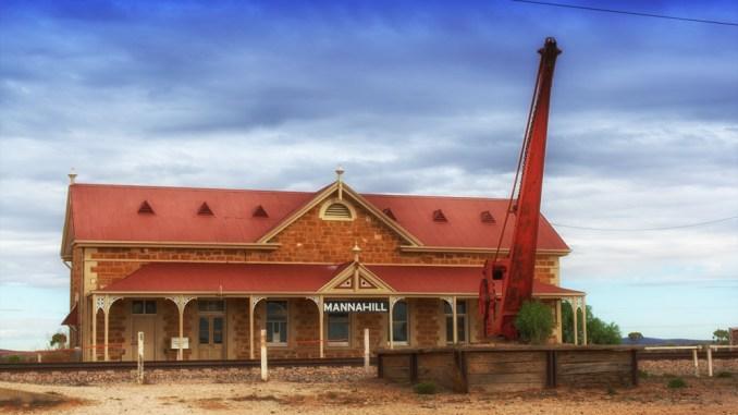 Mannhill railway station