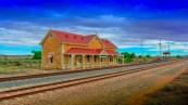 Manna Hill Settlement, Barrier Highway SA