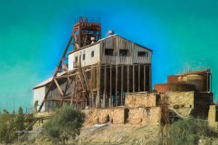 Mine shaft Broken Hill NSW