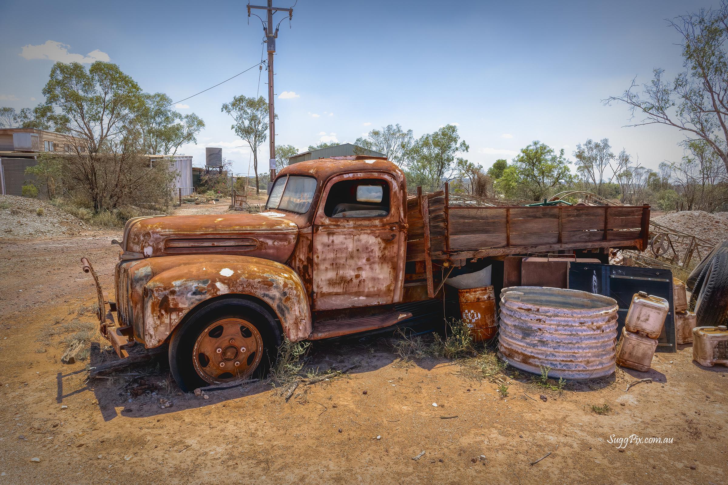 Old Truck – Lightening Ridge