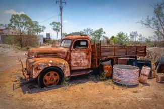 Old Truck - Lightening Ridge