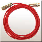 the sensor cable red