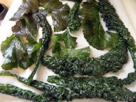 Unbaked greens